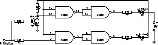 TTL-Logiktester | roebenack.com