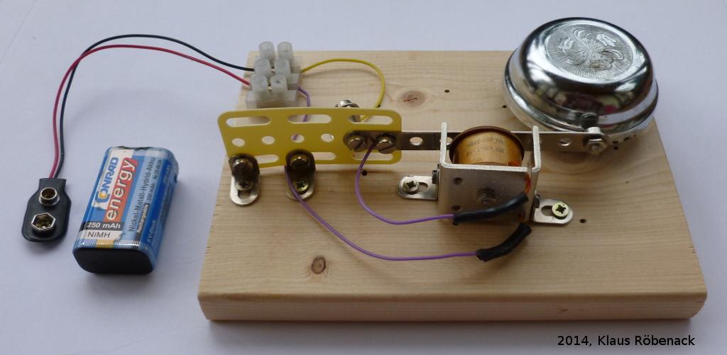 elektrische klingel im eigenbau