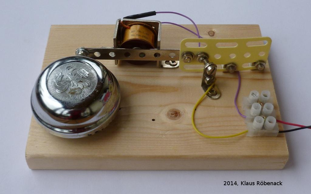 Elektromagnet Selber Bauen : elektrische klingel im eigenbau ~ Aude.kayakingforconservation.com Haus und Dekorationen